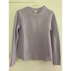 J. Crew Factory Marnie Sweater Lilac Sz Small